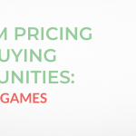 Premium Pricing Event Buying Opportunities: .Studio and .Games